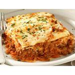 Lasagnas de carne y humita