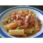 Pasta con salchichas
