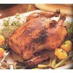 Pollo asado al horno