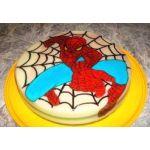 Torta de gelatina (modelo Spiderman)