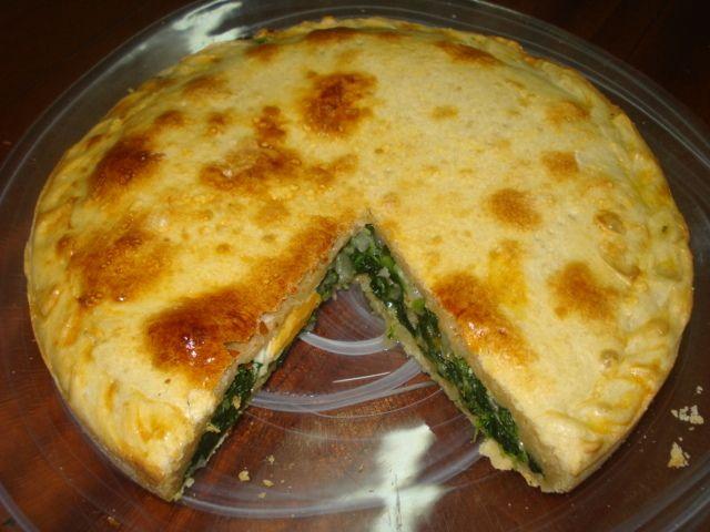 Receta De Tarta De Espinacas Y Ricota