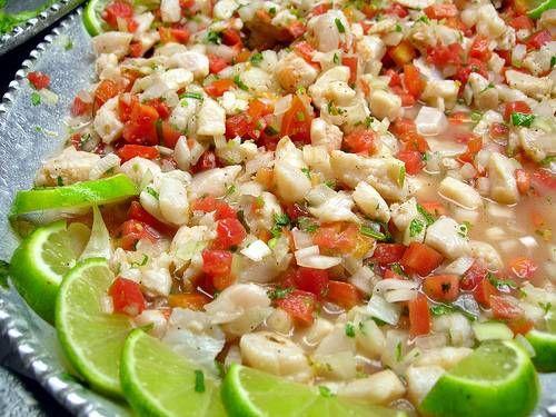 Receta de Cebiche de pescado