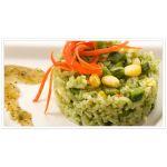 Arroz verde al horno                Delicias Mexicanas