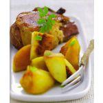 Carne con manzanas
