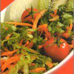 Ensalada de escarola y kiwi