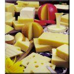 Galletitas de queso gruyere para diabéticos, bajas en sodio
