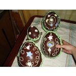 Huevos de Pascua (Huevos de Chocolate)