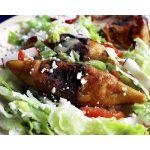 Molotes de papa y chorizo           Delicias Mexicanas