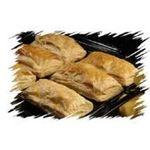 Pastelitos de pollo con hojaldre frita