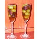 Postre de uvas