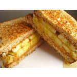 Sandwichs de queso y bananas