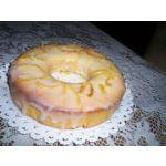 Torta simple de limón